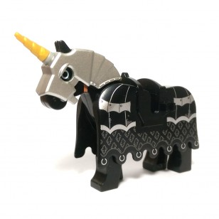 LEGO Animals - Black Battle Horse
