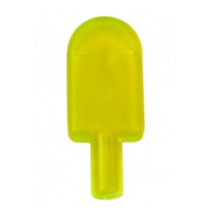 LEGO Minifigure Food - Trans-Neon Green Popsicle