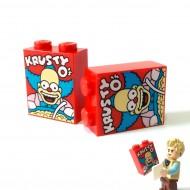 KRUSTY O's' Cereal Box