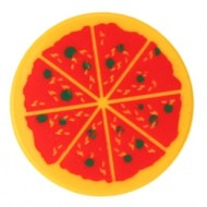 LEGO Minifigure Food - pizza