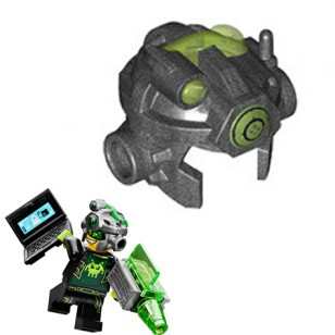 LEGO Minifigure Headgears - Terabyte High Tech Helmet