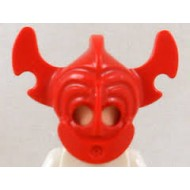 Red Minifig, Headgear Mask Islander - Used