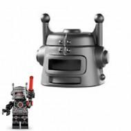 LEGO Minifigure Headgears - Evil Robot Helmet (Series 8 Evil Robot)