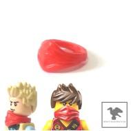 LEGO Minifigure Bodywears - Red Scarf / Bandana Ninja