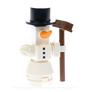 LEGO City Minifigures - Christmas Snowman