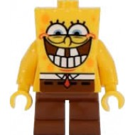 LEGO SpongeBob SquarePants Minifigures - SpongeBob - Grin with Bottom Teeth