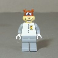 LEGO SpongeBob SquarePants Minifigures - Sandy Cheeks without space helmet