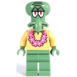 LEGO SpongeBob SquarePants Minifigures - Squidward - Pink Lei (3818)