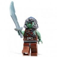 LEGO Fantasy Era Minifigures - Troll Warrior 3 (Orc)