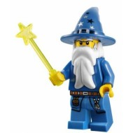 LEGO Kingdoms Minifigures - Blue Wizard
