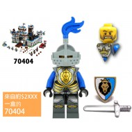 LEGO Castle Minifigures - Castle - King's Knight Armor with Lion Head with Crown