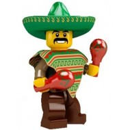 LEGO Series 2 Collectible Minifigures - Mariachi / Maraca Man - Complete Set