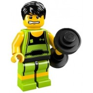 LEGO Series 2 Minifigures Minifigures - Weightlifter - Complete Set