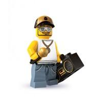 LEGO Series 3 Minifigures Minifigures - Rapper - Complete Set