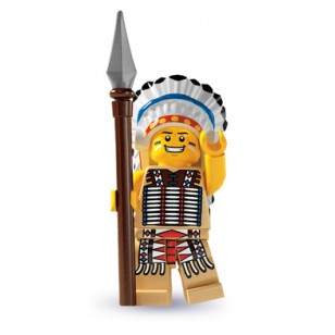 LEGO Series 3 Minifigures Minifigures - Tribal Chief
