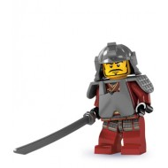 LEGO Series 3 Minifigures Minifigures - Samurai Warrior - Complete Set