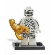 LEGO Series 3 Minifigures Minifigures - Mummy - Complete Set (golden scorpion)