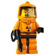 LEGO Series 4 Minifigures Minifigures - Hazmat Guy - Complete Set