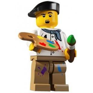 LEGO Series 4 Minifigures Minifigures - Artist - Complete Set