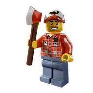 LEGO Series 5 Minifigures Minifigures - Lumberjack - Complete Set