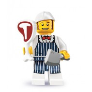 LEGO Series 6 Minifigures Minifigures - Butcher - Complete Set