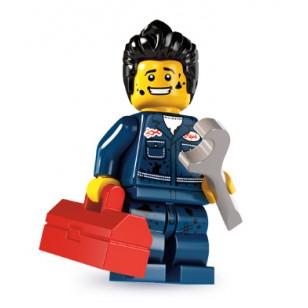 LEGO Series 6 Minifigures Minifigures - Mechanic - Complete Set