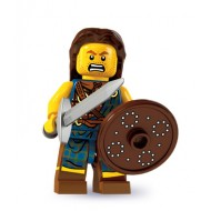 LEGO Series 6 Minifigures Minifigures - Highland Battler - Complete Set
