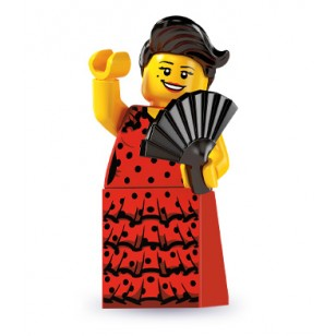 LEGO Series 6 Minifigures Minifigures - Flamenco Dancer - Complete Set