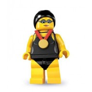 LEGO Series 7 Minifigures Minifigures - Swimming Champion - Complete Set