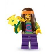 LEGO Series 7 Minifigures Minifigures - Hippie - Complete Set