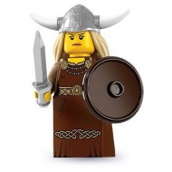LEGO Series 7 Minifigures Minifigures - Viking Woman - Complete Set