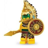 LEGO Series 7 Minifigures Minifigures - Aztec Warrior - Complete Set