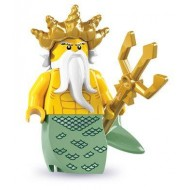 LEGO Series 7 Minifigures Minifigures - Ocean King - Complete Set