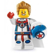 LEGO Series 7 Minifigures Minifigures - Daredevil - Complete Set
