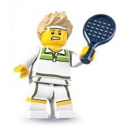LEGO Series 7 Minifigures Minifigures - Tennis Ace - Complete Set