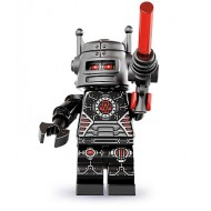 LEGO Series 8 Collectible Minifigures - Evil Robot - Complete Set