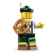 LEGO Series 8 Minifigures Minifigures - Lederhosen Guy - Complete Set