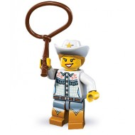 LEGO Series 8 Collectible Minifigures - Cowgirl - Complete Set
