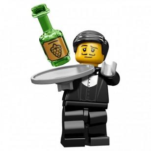 LEGO Series 9 Minifigures Minifigures - Waiter - Complete Set