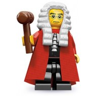 LEGO Series 9 Minifigures Minifigures - Judge - Complete Set