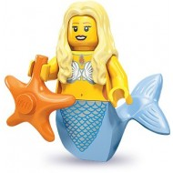 LEGO Series 9 Minifigures Minifigures - Mermaid - Complete Set