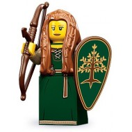 LEGO Series 9 Minifigures Minifigures - Forest Maiden - Complete Set
