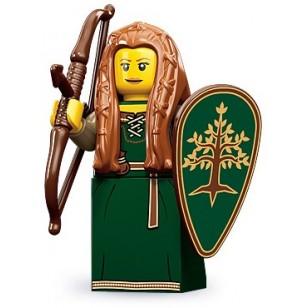 LEGO Series 9 Minifigures Minifigures - Forest Maiden - Complete Set