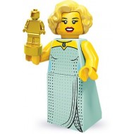 LEGO Series 9 Minifigures Minifigures - Hollywood Starlet - Complete Set