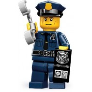LEGO Series 9 Minifigures Minifigures - Policeman - Complete Set