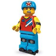 LEGO Series 9 Minifigures Minifigures - Roller Derby Girl - Complete Set