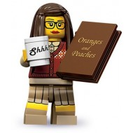LEGO Series 10 Minifigures Minifigures - Librarian - Complete Set