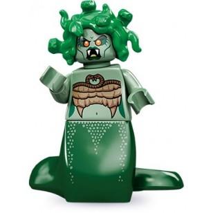 LEGO Series 10 Minifigures Minifigures - Medusa - Complete Set (halloween)