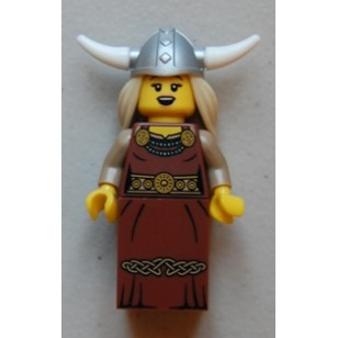 LEGO Series 7 Minifigures Minifigures - Viking Woman