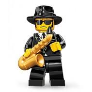 LEGO Series 11 Minifigures Minifigures - Saxophone Player - Complete Set